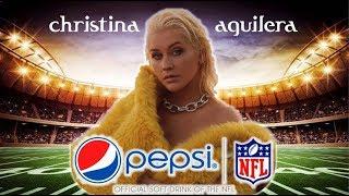 Christina Aguilera - Super Bowl Halftime Show (Fan Made)