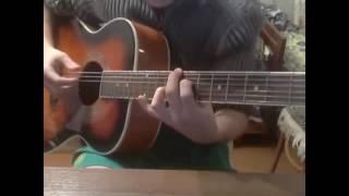 Как играть на гитаре Radzik! IOWA - эта песня простая (guitar cover)
