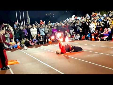 Male Fire Dance