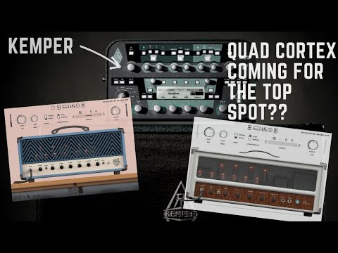 Neural DSP vs KEMPER - is the QUAD CORTEX coming for that top spot?!