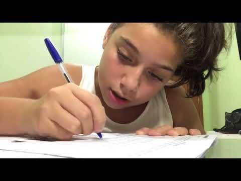 Study vlog: CALL, fazendo redação