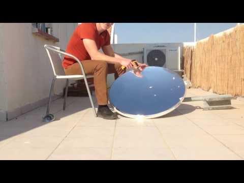 Parabolic Solar Heater Doovi
