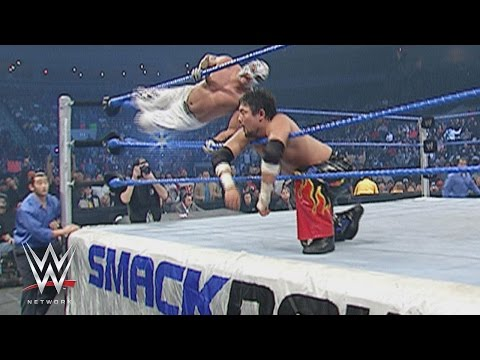 WWE Network: Tajiri vs. Rey Mysterio - Cruiserweight Championship Match: SmackDown, January 1, 2004