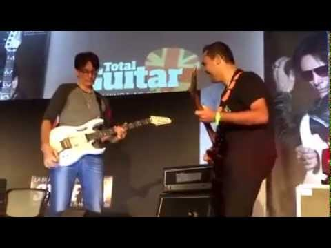 Steve Vai Brazil Guitar Clinic