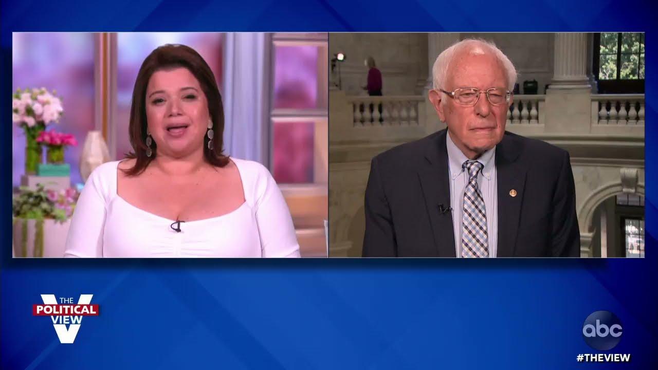 "Sen. Bernie Sanders Says ""Sensible Gun Safety Legislation"" Needed Amid Rise in Violence | The View"