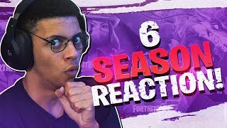 SEASON 6 IS HERE! PATCH 6.0 FIRST REACTION (Fortnite Patch Breakdown)