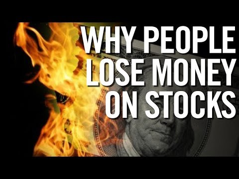 WHY PEOPLE LOSE MONEY IN THE STOCK MARKET ☹ 5 Beginner Mistakes