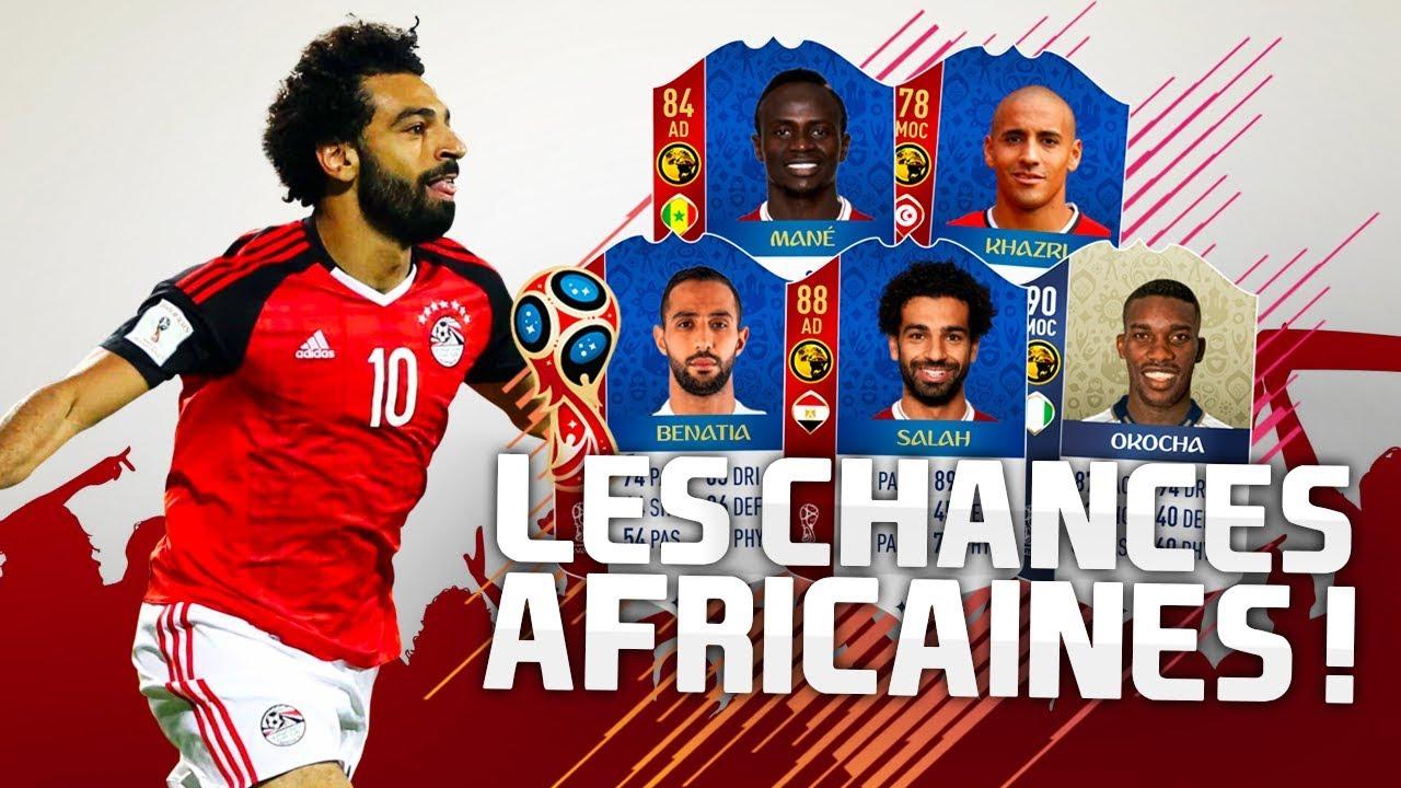 COUPE DU MONDE - LES CHANCES AFRICAINES !