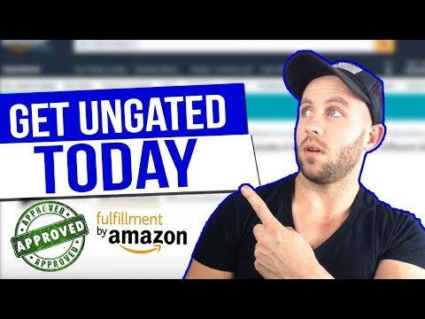 4 WAYS On How To Get UNGATED For AMAZON FBA - ALL CATEGORIES