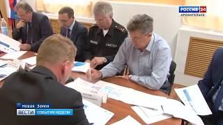 Новую Землю посетил губернатор Игорь Орлов