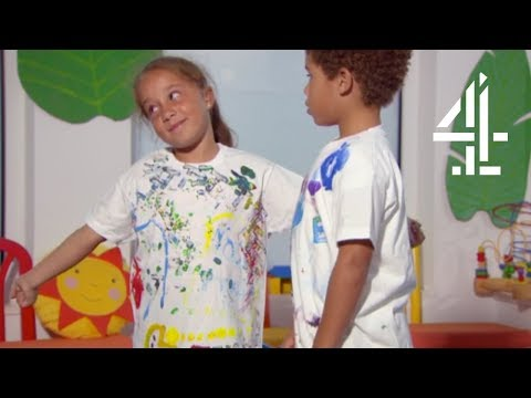 How To Make A T-Shirt For Your Partner | The Secret Life Of 4, 5 & 6 Year Olds On Holiday