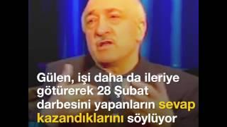 Fetullah Gülen 28 Şubat39;a böyle destek olmuştu