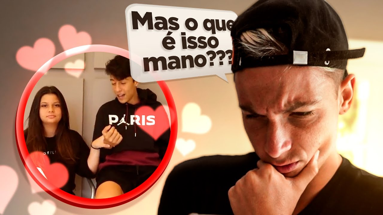 MINHA IRMÃ E O CAUÃ VÃO NAMORAR?!