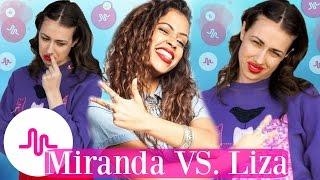 Miranda Sings VS Liza Koshy Musical.ly 2017 | Best Musically Battle