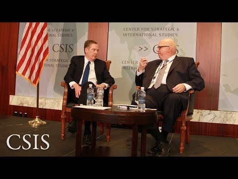 U.S. Trade Policy Priorities: Robert Lighthizer, United States Trade Representative