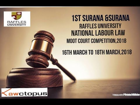 National Moot Court Competition 2018