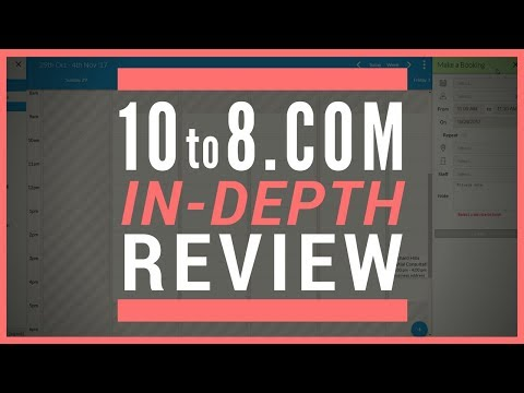 10to8 Appointment Scheduling Review - 10to8 Does it ALL? Free Option Available