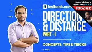 Distance & Direction (Part - I) - Reasoning Tricks for SSC, Bank & Railway Exams by Testbook.com