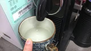 네스프레소 머신 물의 양 조절하기