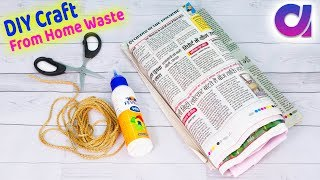 Best use of waste Newspaper and balloon craft ideas | Best out of waste | Artkala 532