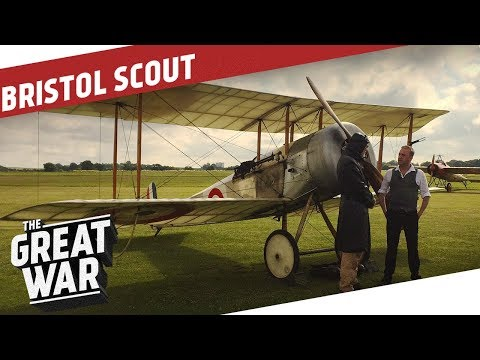 Inside A British Bristol Scout WW1 Airplane I THE GREAT WAR Special