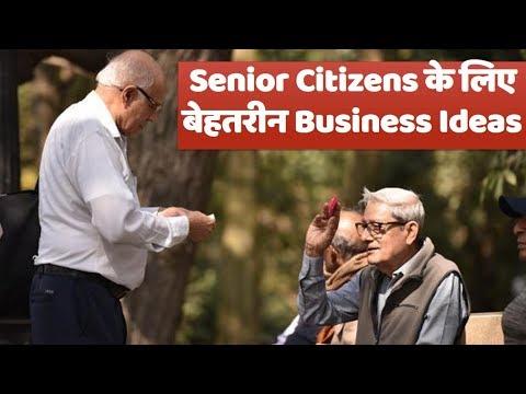 Top Business Ideas for Retired Senior Citizens. V For Vinnovative