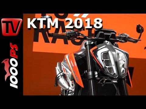 KTM Motorcycles 2018 - KTM 790 Duke - 790 Adventure Concept incl. Soundcheck
