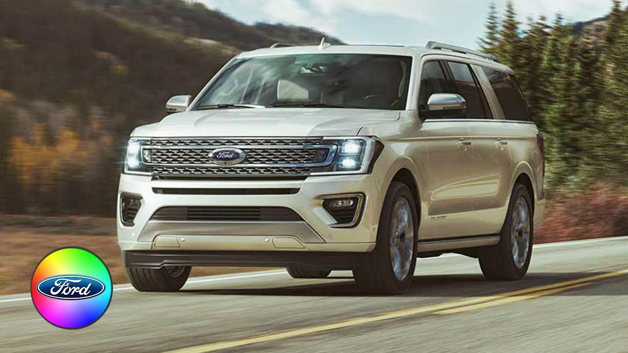 2018 Ford Expedition Colors Xlt Limited Platinum