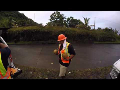 American Samoan lunch break