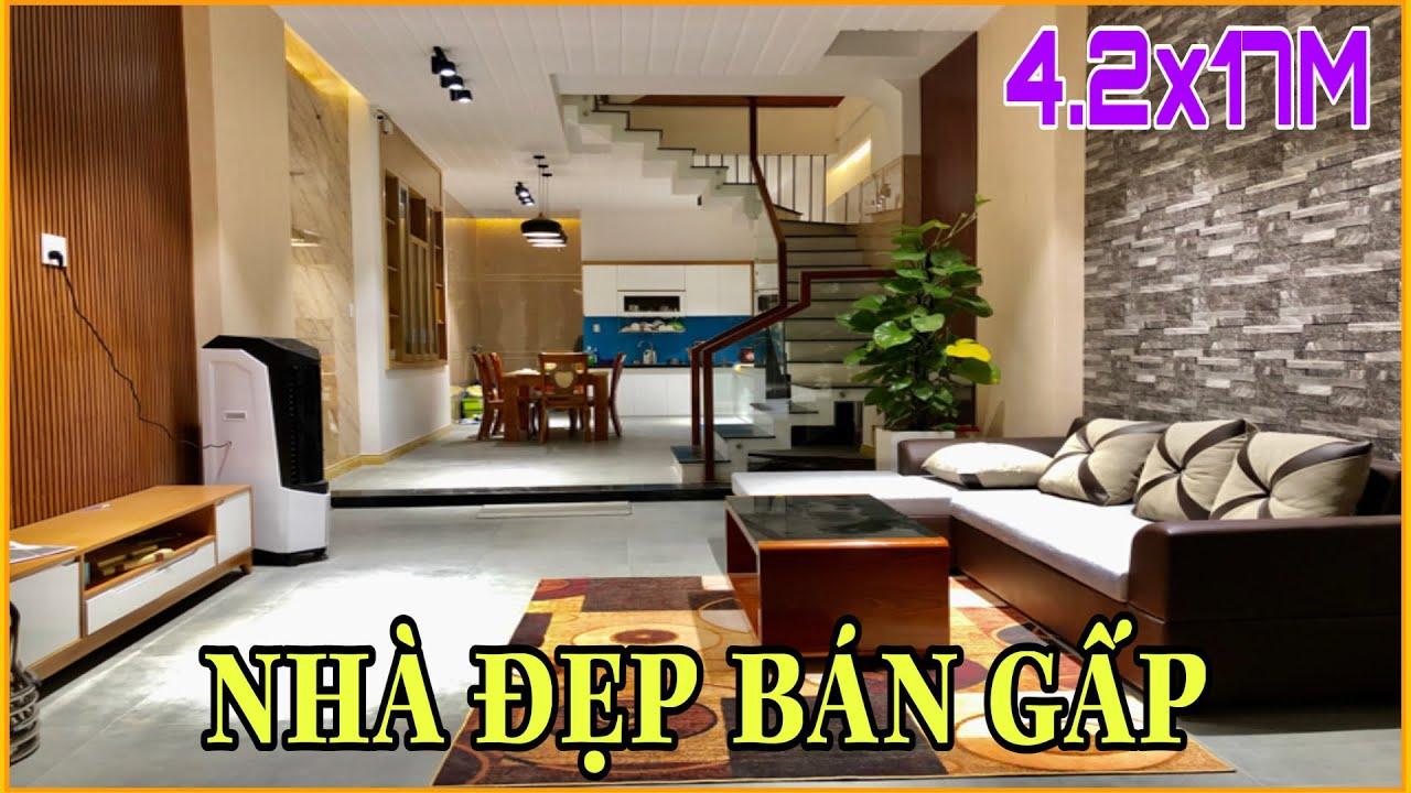 Bán nhà Gò Vấp | 288] Nhà chủ xây ở cần bán gấp thiết kế đẹp tặng nội thất giá rẻ tại Gò Vấp