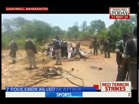 7 policemen killed in Gadchiroli, Maharashtra