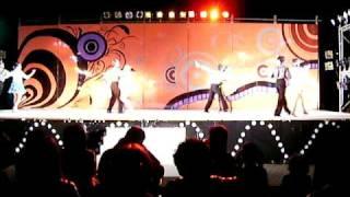 静大祭2010 社交ダンス部 フォーメーション J (2010/11/20)