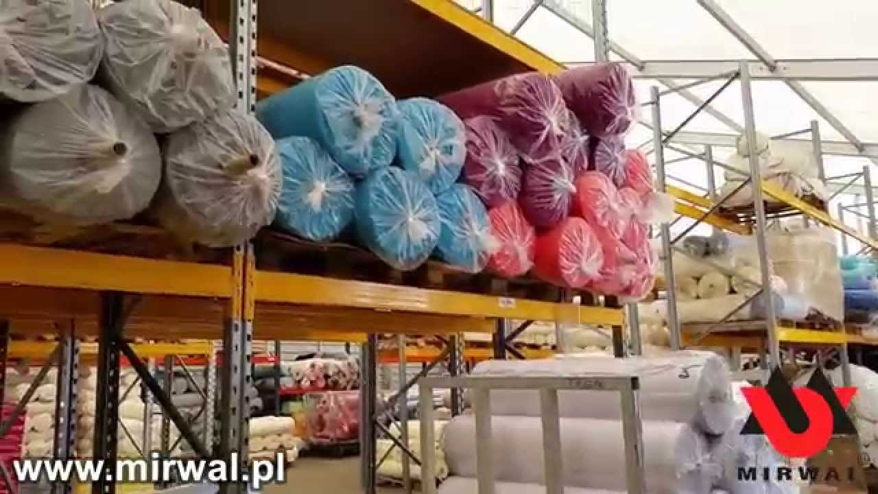 cec1f48d57597d Producent dzianin Mirwal - Łódź (www.mirwal.pl) - YouTube