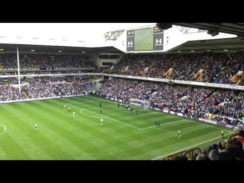 Toby Alderweireld goal Spurs 4-1 Man City Slow Motion