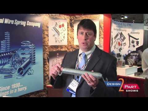 Spring Manufacturer - Extension, compression, torsion springs at General Wire Spring