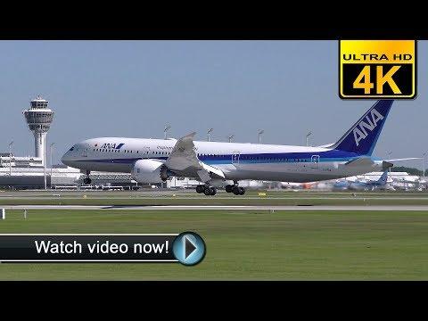 ✈JA891A • BOEING 787-9 DREAMLINER • ALL NIPPON AIRWAYS • LANDING IN MUNICH✈ [4K]