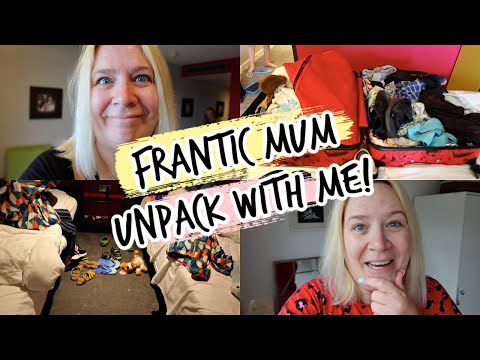 FRANTIC MUM FAMILY PACK & UNPACK WITH ME!