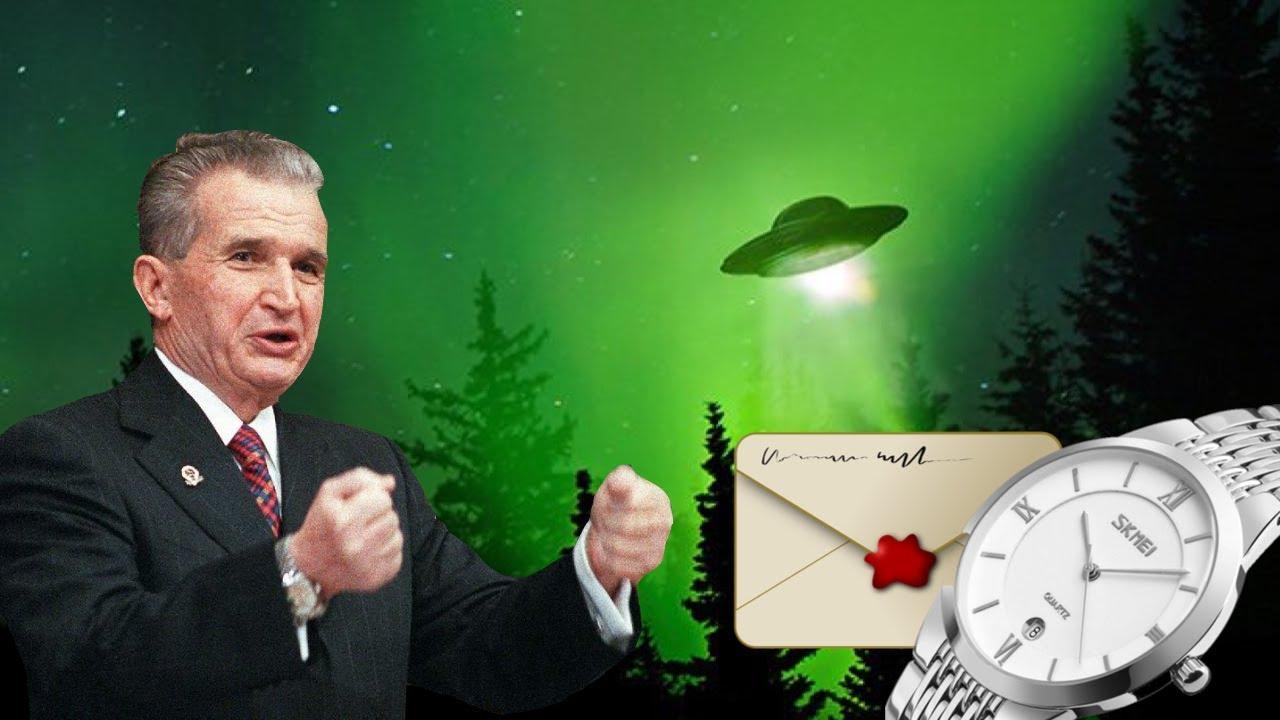 Implicatii Extraterestre, Dezvaluiri din Jurnalul Lui Nicolae Ceausescu