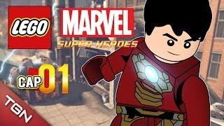 """LEGO MARVEL SUPER HEROES: """"ESTRENO ÉPICO"""" #1 ( Gameplay en Español )"""