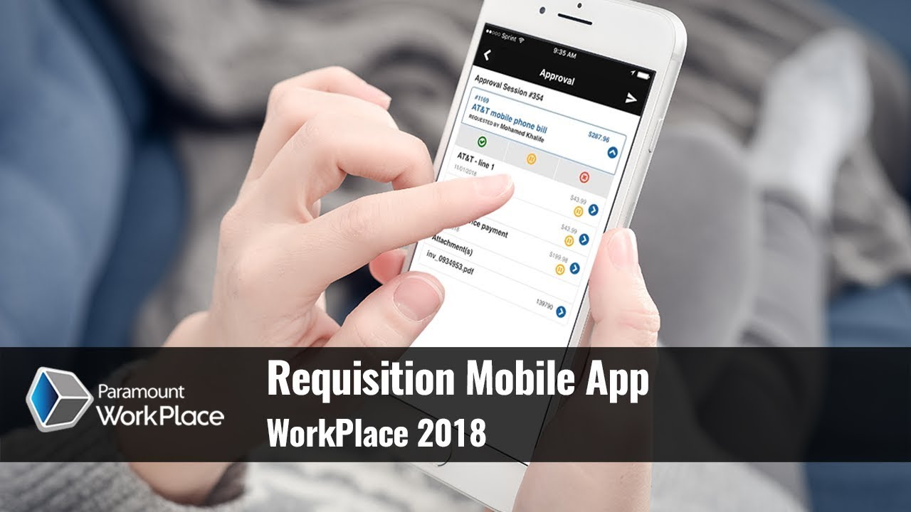 WorkPlace 2018 Requisition Mobile App