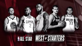 2021 West All-Star Starters Annnouncement - Inside the NBA | February 18, 2021
