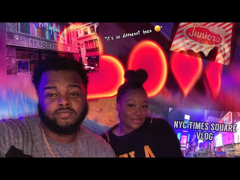 NYC TIMES SQUARE VLOG| Museum Of S.E.X Tour & Juniors Dinner Experience!! | YBC ENT.