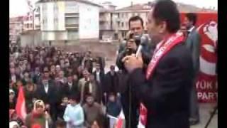 muhsin yazıcıoğlu  sivas şarkışla mitingi 1. bölüm