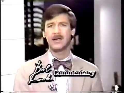 KTXL 1990 Bob Cook News Commentary - CA Campaign Against Smoking - Sacramento 80s 90s