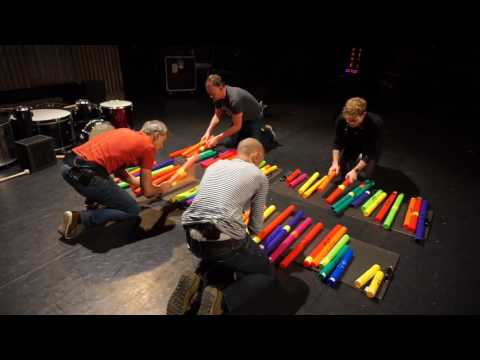 Fastes tubes ever??! Flight of the bumblebee on boomwhackers