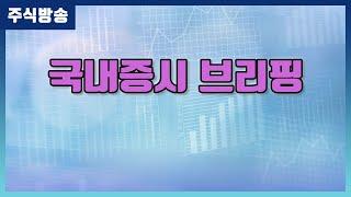 [주식] 국내증시 브리핑