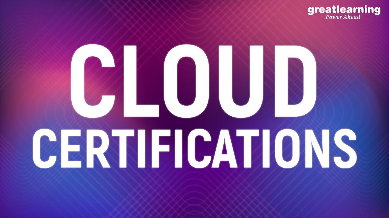 Cloud Certifications | AWS Certifications | Azure Certifications | Cloud Computing