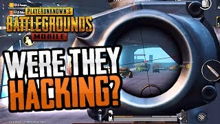 WERE THEY HACKING? PUBG Mobile Squad Gameplay