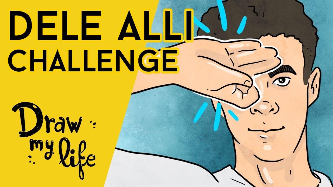 Te enseñamos el DELE ALLI CHALLENGE - Draw My Life en Español