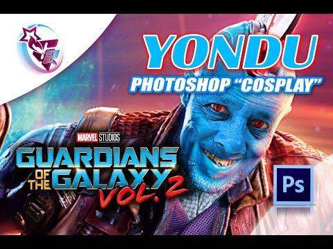 YONDU de Guardianes de la Galaxia Vol.2 Photoshop (Cosplay)   Photoshop